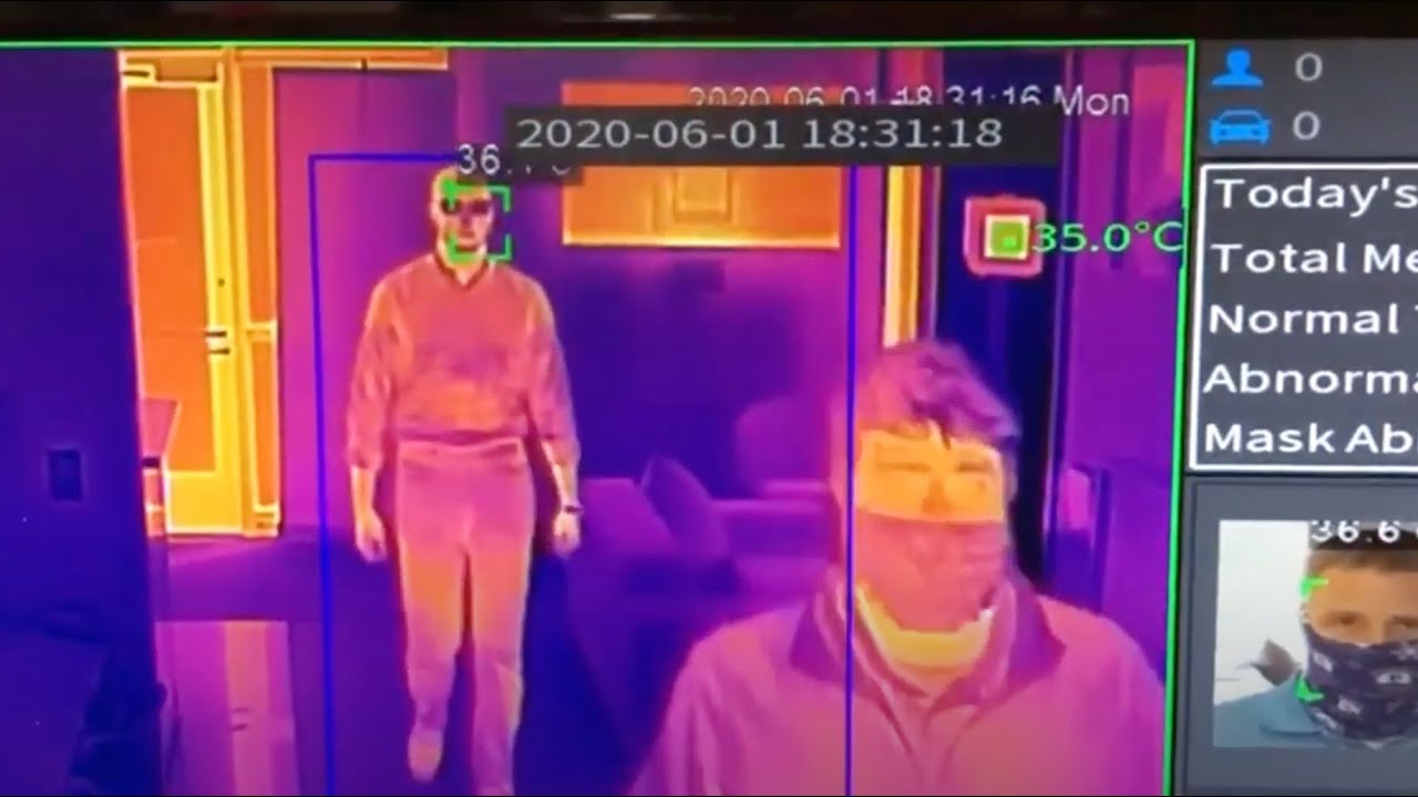 The need for thermal camera monitoring in a post-COVID world