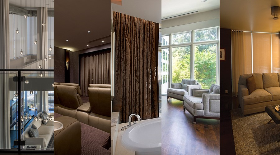 5 Examples of the Versatility of Motorized Shades