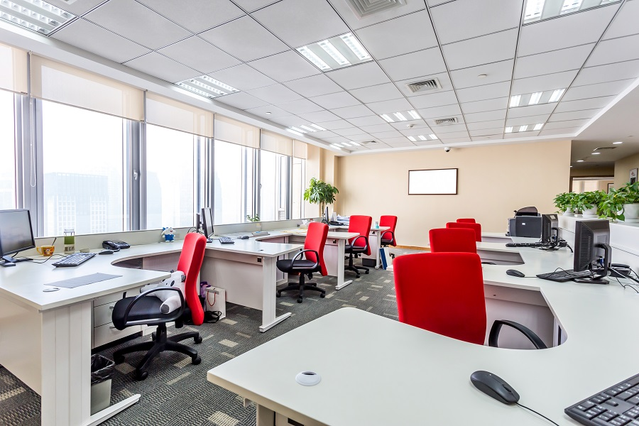 How Motorized Shades Can Enhance Your Office