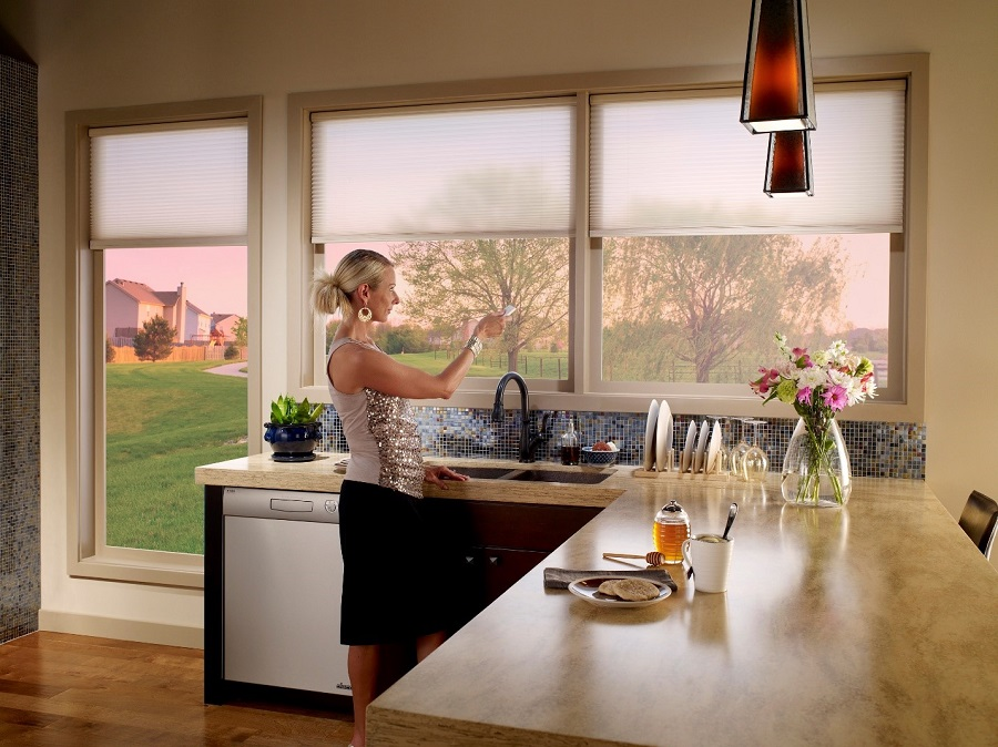 Stay Cool in Texas with Motorized Blinds and Shades