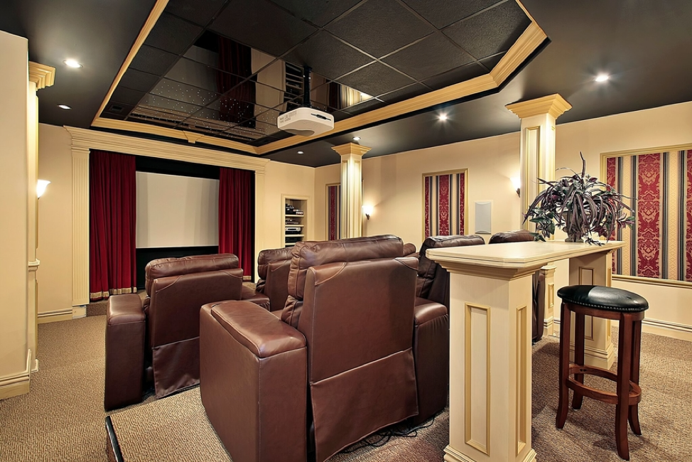 Make Any Space an Immersive, Custom Home Theater