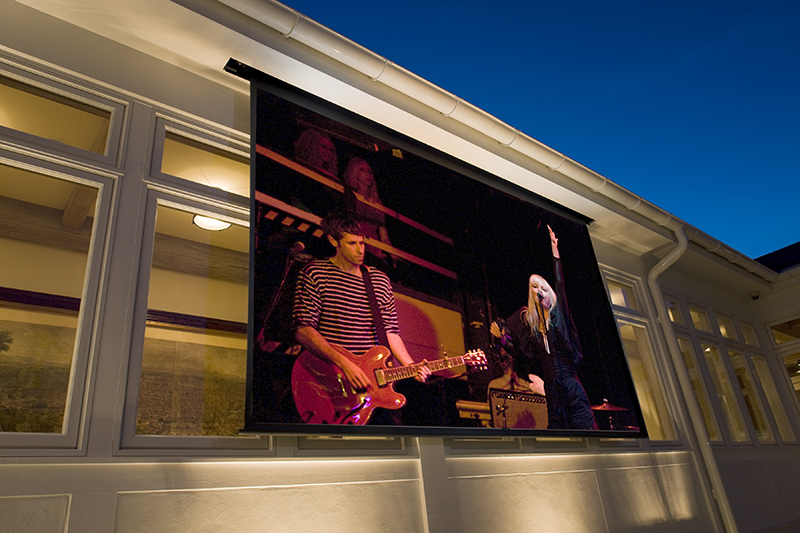 Jump Start Your Entertainment with An Outdoor Home Theater Installer