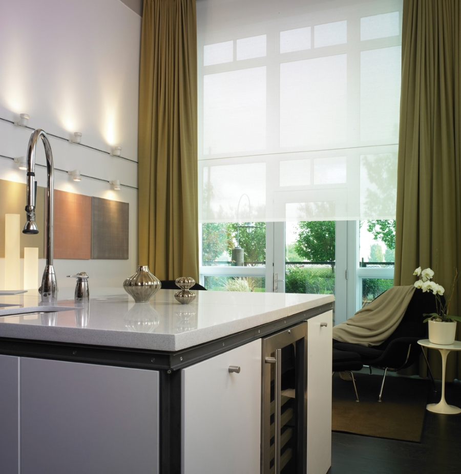 Modern or Contemporary, Motorized Shades Fit Any Style