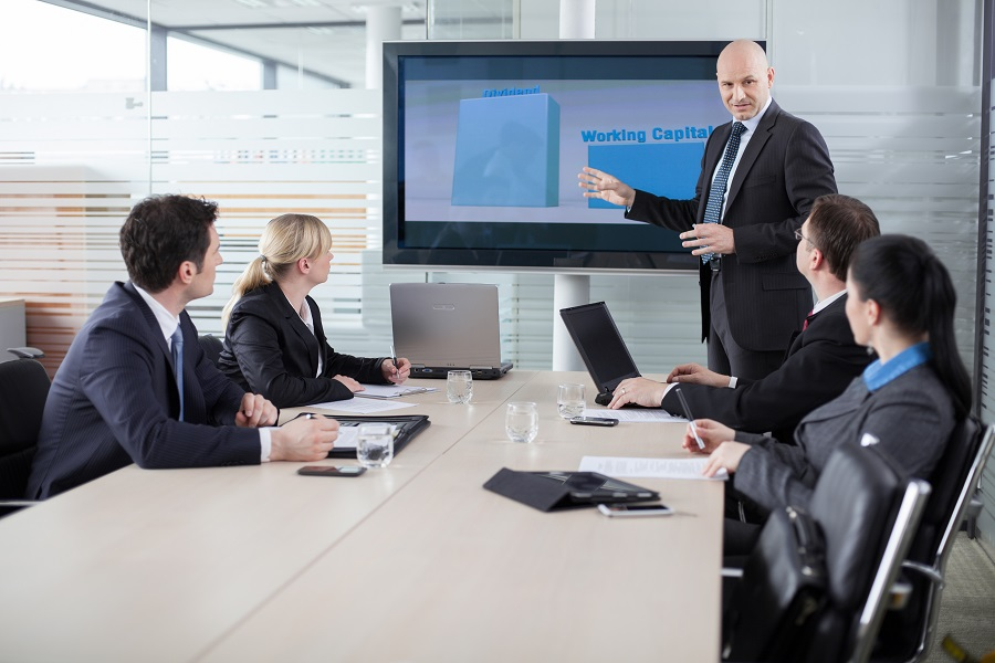 How Smart Boardroom Technology Improves Your Business