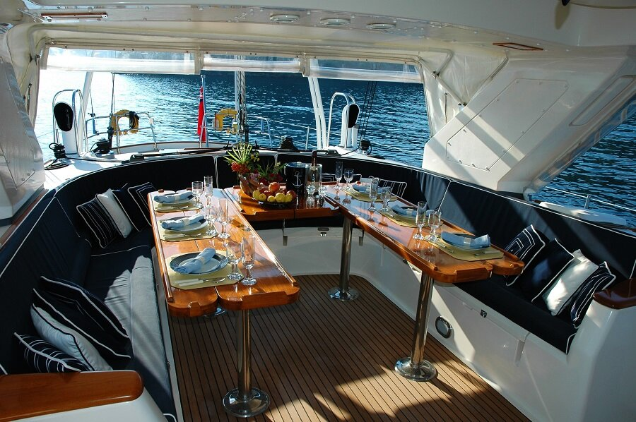 Sail in Luxury with Yacht Automation