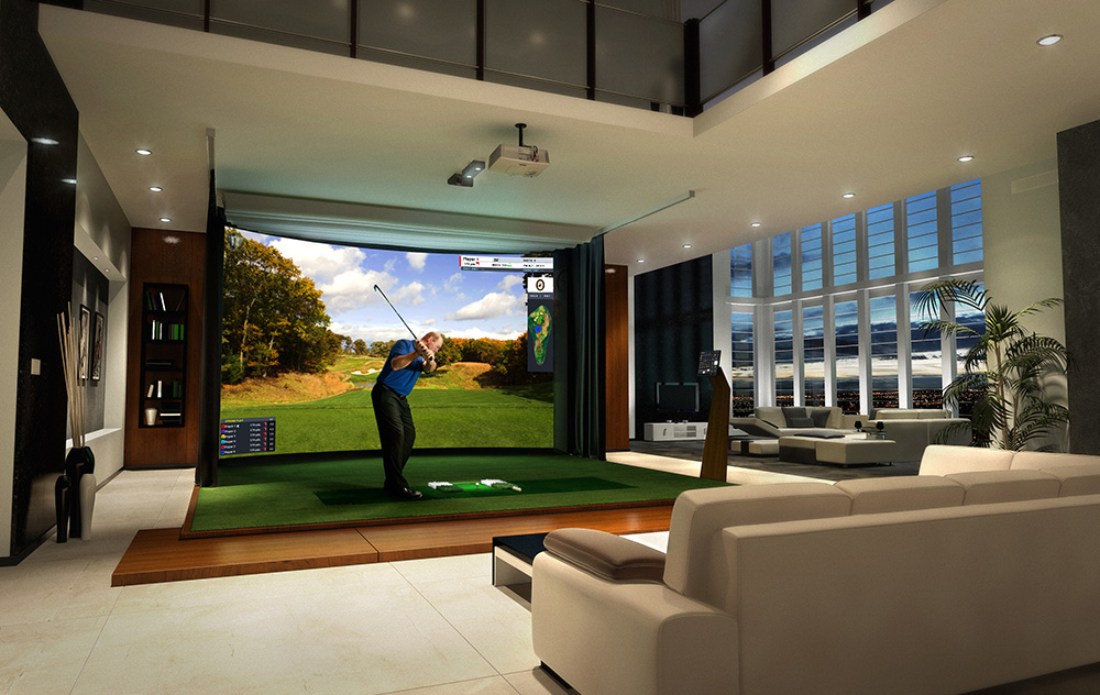 Entertaining Indoors? Golf Simulators Provide Fun for All Ages