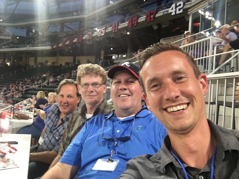 Digital Interiors Hosts a Night Out with the Atlanta Braves